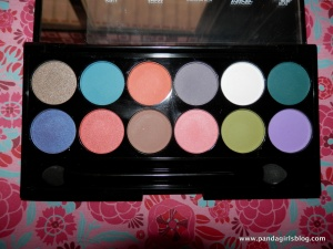 Sleek del mar palette