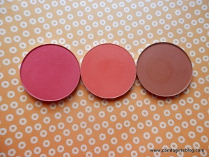 Makeup Geek Blush: Love Affair, Summer Fling and Infatuation