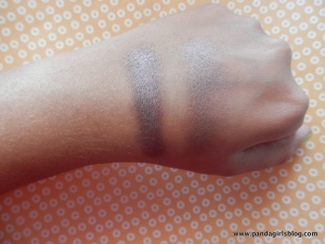mac satin taupe + benefit stilleto