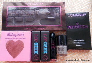 i heart makeup haul