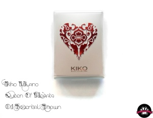 Kiko Queen of hearts - Essential Brown