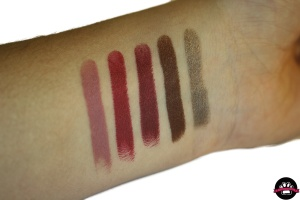 Colourpop lippiestix swatch